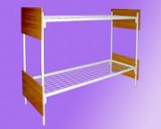 Металлические прочные кровати оптом для детских учреждений Волгоград