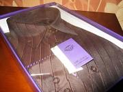 Мужская новая рубашка Virsance в коробке.