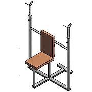 Документация для самостоятельного изготовления тренажёра для бодибилдинга (стойка для жима сидя).