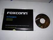 Диск и инструкция к материнской плате FOXCONN. Цена 35 руб. Макеевка
