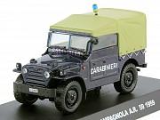 Полицейские машины мира спец. выпуск 1 Fiat Campagnola 1959 Липецк