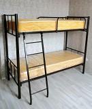 Кровати на металлокаркасе, двухъярусные, односпальные для хостелов, гостиниц, рабочих Ростов-на-Дону