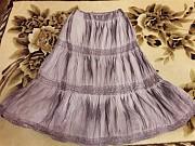 Юбка юбочка даме большой размер новая натуральная ткань Донецк