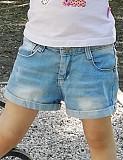 """Джинсовые шорты (двое) для девочки """"Зара"""" 3-6 лет!"""