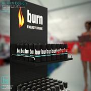 Заказать рекламные торговые стойки Burn. От Bendvis Славянск