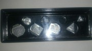 Набор миллиграммовых гирь МГ-4-1100-10 (от 10 - 500 мг.) Стаханов