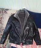Продам зимнюю кожаную куртку Донецк
