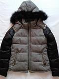 Стильная стёганая теплая куртка со съемным капюшоном! Донецк