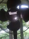 Вентилятор черный напольный Макеевка