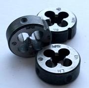 Плашка левая М12х1,75LH, 9ХС, 38/14 мм, основной шаг, ГОСТ 9740-71 Харцызск