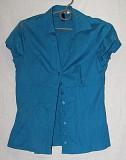 Блуза тёмно-бирюзового цвета. Цена 150 руб. Макеевка