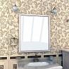 Распродажа 8-) зеркало настенное компании «Ваша Мебель» модель «Аква Люкс 80» бежевое