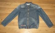 джинсовый пиджак на мальч 9+ Луганск
