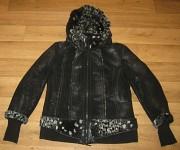 Деми дубленка куртка на полбедра «Rolada»р.46 Луганск