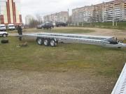 Польский прицеп для перевозки 2х авто 866*210-3,5т. Москва