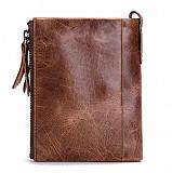 Кошелёк кожаный - Contact'S, натуральная телячья кожа, бумажник