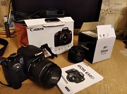 Canon EOS 650D 18-55 IS II + Canon EF 50 mm f/1.8 STM Донецк