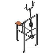 """Документация для самостоятельного изготовления тренажёра для workout (ФС22 """"Коромысло"""")."""