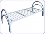 Кровать с металлическим изголовьем, кровати металлические для бытовок Краснодар