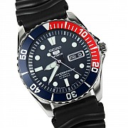 Часы Seiko 5 SNZF15J2 Automatic Submariner Pepsi -MADE IN JAPAN- Донецк