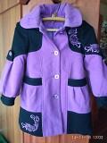 Детское драповое пальто