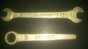 Ключи рожковый и накидной 13 - 17 и 19 мм. FIAT UBERTI Стаханов