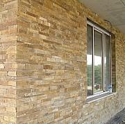 Нарезка фасадно-стеновая -лапша из песчаника природного Красный Луч