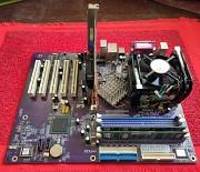 ECS Elitegroup 865PE-A (rev 2.0) + NVIDIA GeForce2 MX 400 Донецк