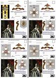8 разн. почтовых карточек 2019 г.,- к 250-летию ордена Святого Георгия Донецк