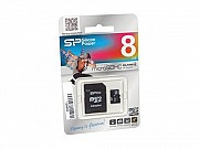 Купить карту памяти SDHC 8GB (4) Silicon Power в г.Донецк Донецк