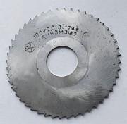 Фреза отрезная 100х2,0х27, Р6М5, тип 2, средний зуб (Z48) Макеевка