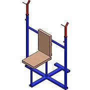Документация для самостоятельного изготовления тренажёра для бодибилдинга (стойка для жима сидя). Донецк