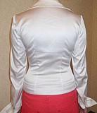 Красивая белая атласная блуза р-р 40! Донецк