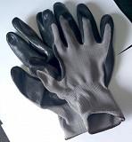 Перчатки с нитриловым покрытием, нейлоновые, мбс, с манжетом, маслобензостойкие. Макеевка