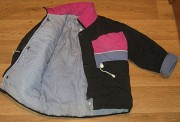 Зимнюю куртку на синтепоне с комбинезоном 3-4года Луганск