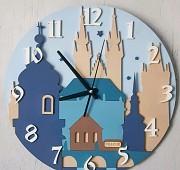 Настенные часы с нанесением логотипа или символики Донецк