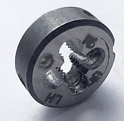 Плашка левая М-6х1,0LH, 9ХС, (20/7 мм), основной шаг Макеевка