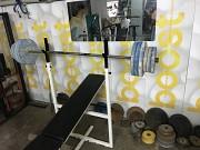 штанга весом 55кг в лнр ленинградского завода блины блины по 5кг и 2.5кг Луганск
