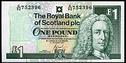 Шотландия 1 фунт Луганск