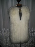Продам женский длинный жилет из натурального меха Донецк