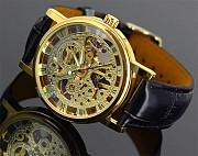 Механические часы WINNER Skeleton Gold , #138 Донецк