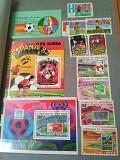 Коллекция марок футбол хоккей спорт техника