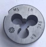 Плашка левая М-5х0,8LH, 9ХС, (20/7 мм), основной шаг Донецк