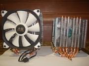 Охлаждение процессора 4 и 6 МЕДНЫХ ТРУБОК Харцызск