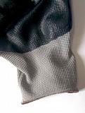 Перчатки маслобензостойкие нейлоновые с нитриловым покрытием, серо-черные Донецк