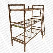 Кровати металлические двухъярусные для строителей, кровати металлические дешево Краснодар