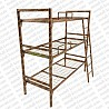 Кровати металлические двухъярусные для строителей, кровати металлические дешево