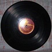 """Патефонная пластинка """"Вальс/Марш"""" (нач. 1950-х). Цена 100 руб. Макеевка"""