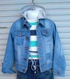 Куртки джинсовые для мальчиков