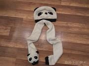 Комплект шапка и шарф на ребёнка 1-4 года Енакиево
